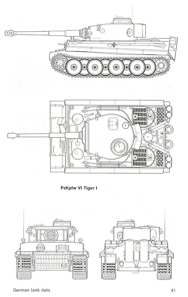 P 47 takes out a tiger tank page 2 armchair general for Cistern plans