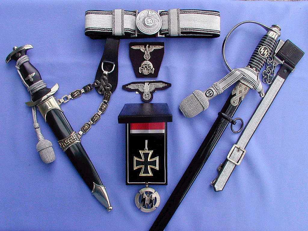 Nazi SS M33 Service Dagger  History World War II Pinterest