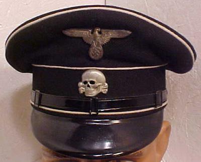 nazi hat totenkopf